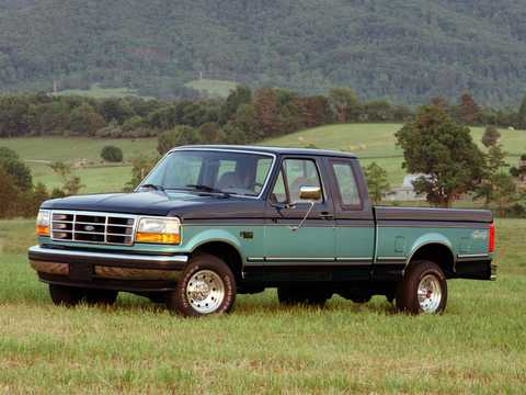Front/Side  of Ford F-150 SuperCab 1992