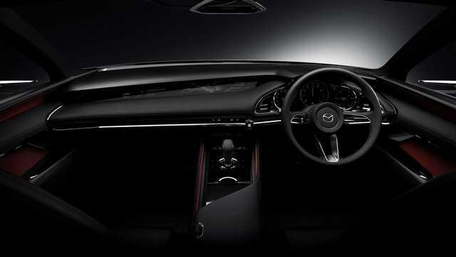 Interior of Mazda Kai Concept Concept, 2017