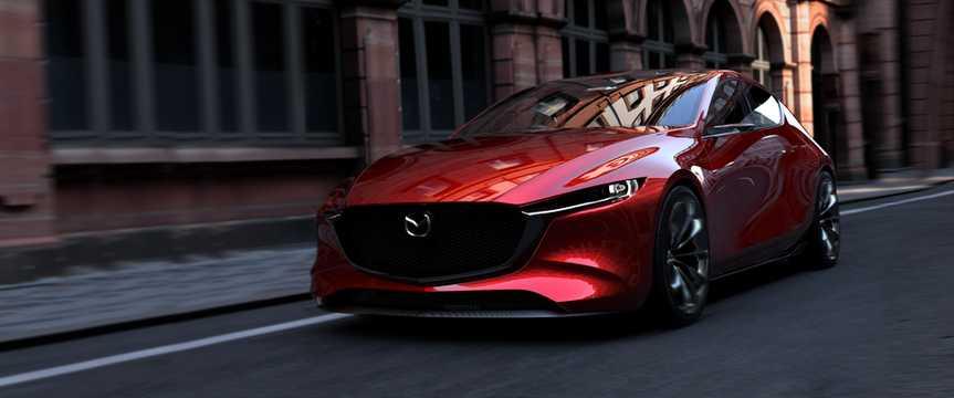 Fram/Sida av Mazda Kai Concept Concept, 2017