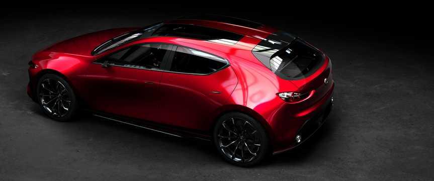Back/Side of Mazda Kai Concept Concept, 2017