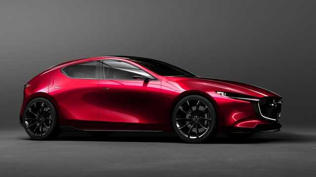 Front/Side  of Mazda Kai Concept Concept, 2017