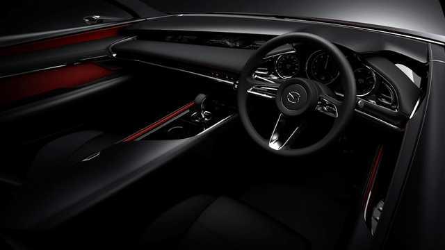 Interiör av Mazda Kai Concept Concept, 2017