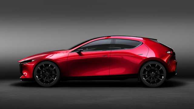 Side  of Mazda Kai Concept Concept, 2017
