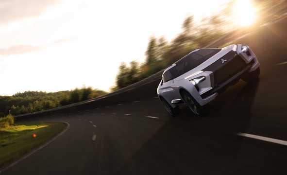 Front/Side  of Mitsubishi e-Evolution Concept Concept, 2017
