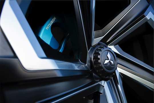 Close-up of Mitsubishi e-Evolution Concept Concept, 2017