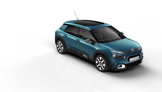 Fram/Sida av Citroën C4 Cactus 2018