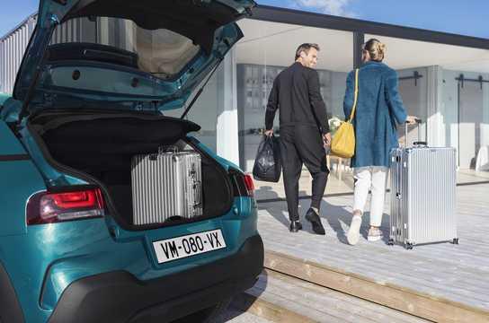 Närbild av Citroën C4 Cactus 2018