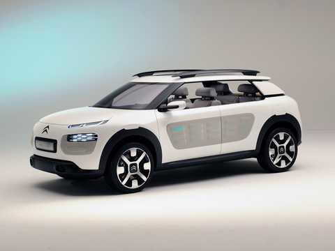 Fram/Sida av Citroën Cactus Concept Concept, 2013