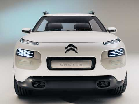 Fram av Citroën Cactus Concept Concept, 2013