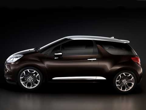 Sida av Citroën DS Inside Concept Concept, 2009