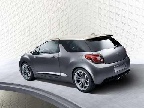 Bak/Sida av Citroën DS Inside Concept Concept, 2009