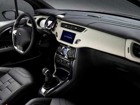 Interiör av Citroën DS Inside Concept Concept, 2009