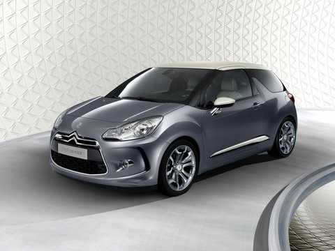 Front/Side  of Citroën DS Inside Concept Concept, 2009