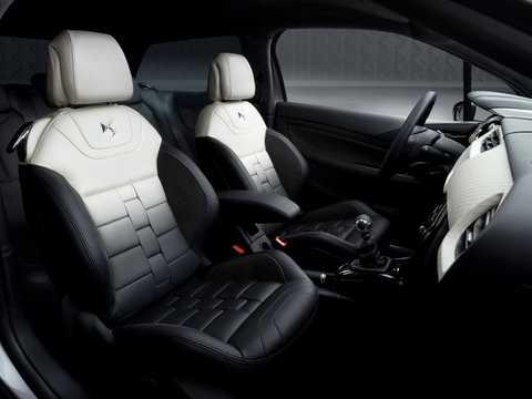 Interior of Citroën DS Inside Concept Concept, 2009