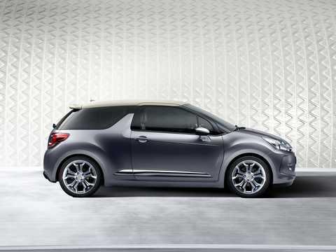 Side  of Citroën DS Inside Concept Concept, 2009