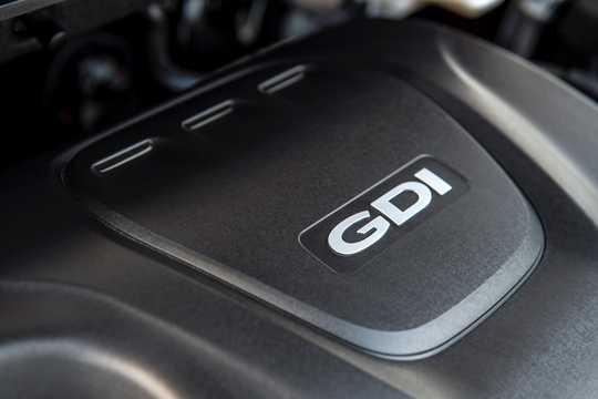 Engine compartment  of Hyundai Accent Sedan 1.6 GDI Automatic, 135hp, 2018
