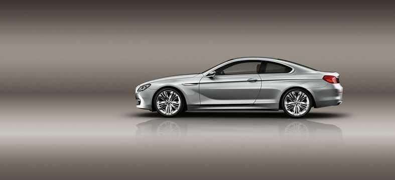 BMW 6 Series Coupé Concept Concept, 2010
