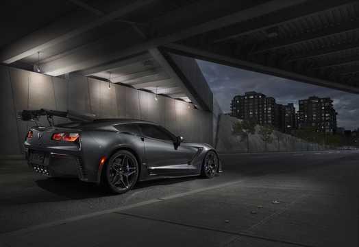 Back/Side of Chevrolet Corvette ZR1 6.2 V8 Automatic, 765hp, 2019