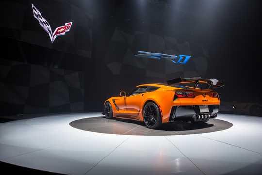 Back/Side of Chevrolet Corvette ZR1 6.2 V8 765hp, 2019