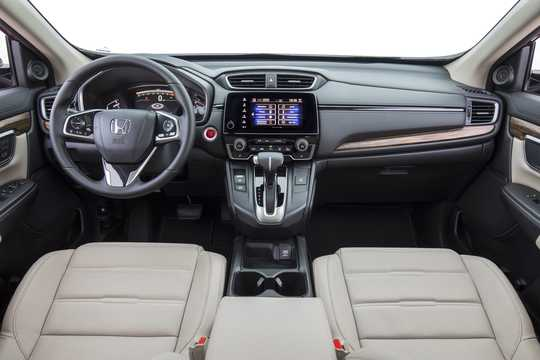 Interior of Honda CR-V 1.5 AWD CVT, 193hp, 2017