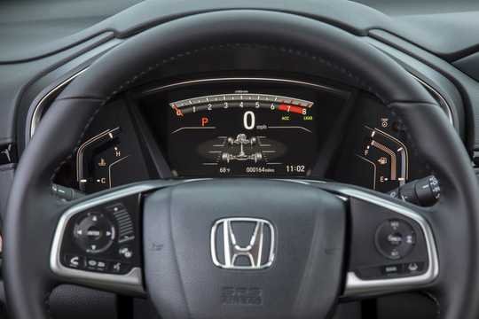 Close-up of Honda CR-V 1.5 AWD CVT, 193hp, 2017