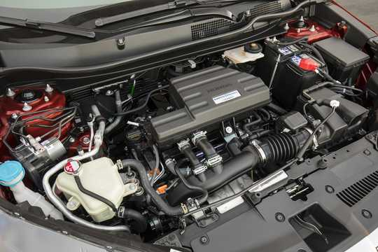 Engine compartment  of Honda CR-V 1.5 AWD CVT, 193hp, 2017