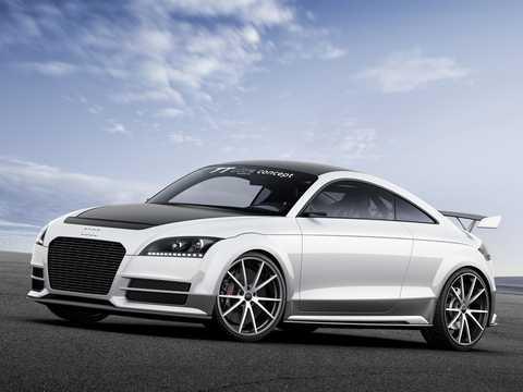Front/Side  of Audi TT ultra quattro 2.0 TFSI quattro Concept, 310hp, 2013