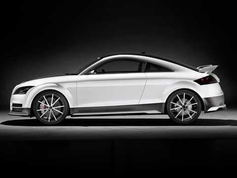 Side  of Audi TT ultra quattro 2.0 TFSI quattro Concept, 310hp, 2013