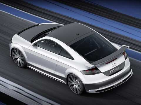 Back/Side of Audi TT ultra quattro 2.0 TFSI quattro Concept, 310hp, 2013