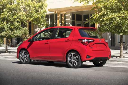 Bak/Sida av Toyota Yaris 5-dörrar 2018