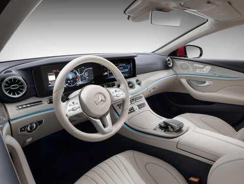 Interiör av Mercedes-Benz CLS-Klass Coupé 2018