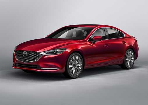 Front/Side  of Mazda 6 Sedan 2018