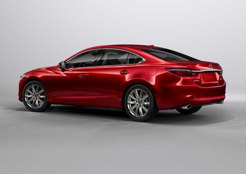 Back/Side of Mazda 6 Sedan 2018