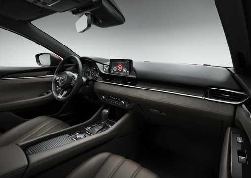 Interior of Mazda 6 Sedan 2018
