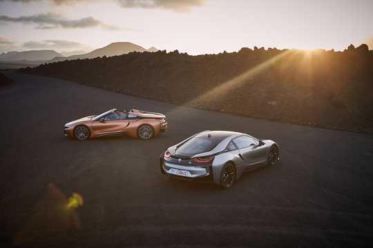 Bak/Sida av BMW i8 Roadster 1.5 + 11.6 kWh Steptronic, 374hk, 2018