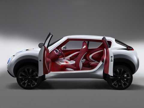 Side  of Nissan Qazana Concept Concept, 2009