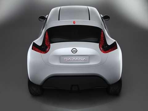 Back of Nissan Qazana Concept Concept, 2009