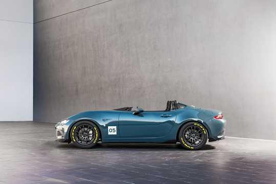 Side  of Mazda MX-5 Speedster Concept Concept, 2015