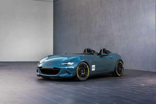 Front/Side  of Mazda MX-5 Speedster Concept Concept, 2015
