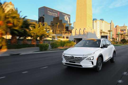 Fram/Sida av Hyundai Nexo FuelCell Single Speed, 163hk, 2018