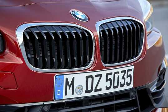 Close-up of BMW 2 Series Active Tourer 2018