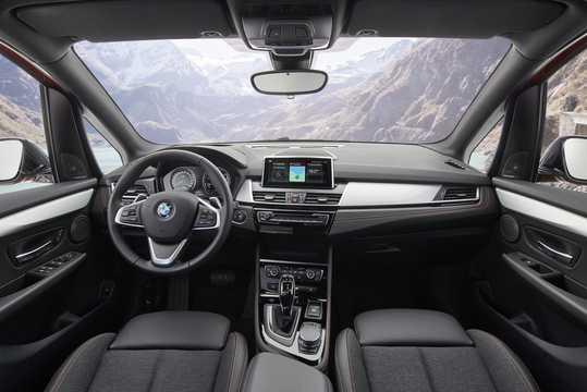 Interior of BMW 2 Series Active Tourer 2018