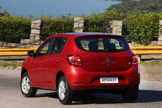 Back/Side of Renault Sandero 2013