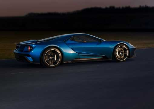 Back/Side of Ford GT Concept Concept, 2015