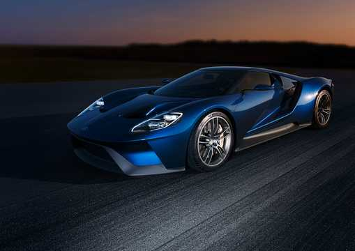 Front/Side  of Ford GT Concept Concept, 2015