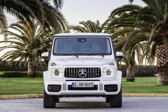 Fram av Mercedes-Benz AMG G 63 4.0 V8 4MATIC , 585hk, 2019
