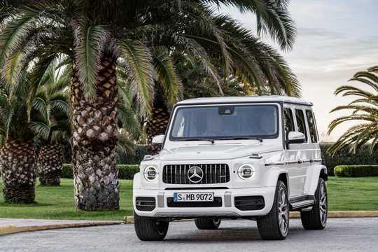 Fram/Sida av Mercedes-Benz AMG G 63 4.0 V8 4MATIC , 585hk, 2019