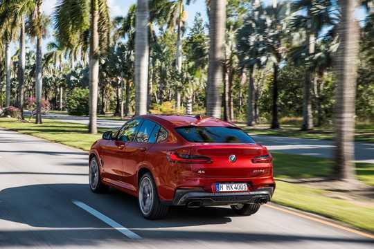 Bak/Sida av BMW X4 M40d 3.0 xDrive Steptronic, 326hk, 2018