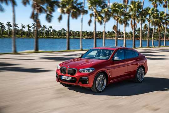 Fram/Sida av BMW X4 M40d 3.0 xDrive Steptronic, 326hk, 2018