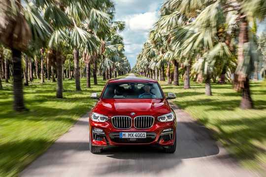 Fram av BMW X4 M40d 3.0 xDrive Steptronic, 326hk, 2018